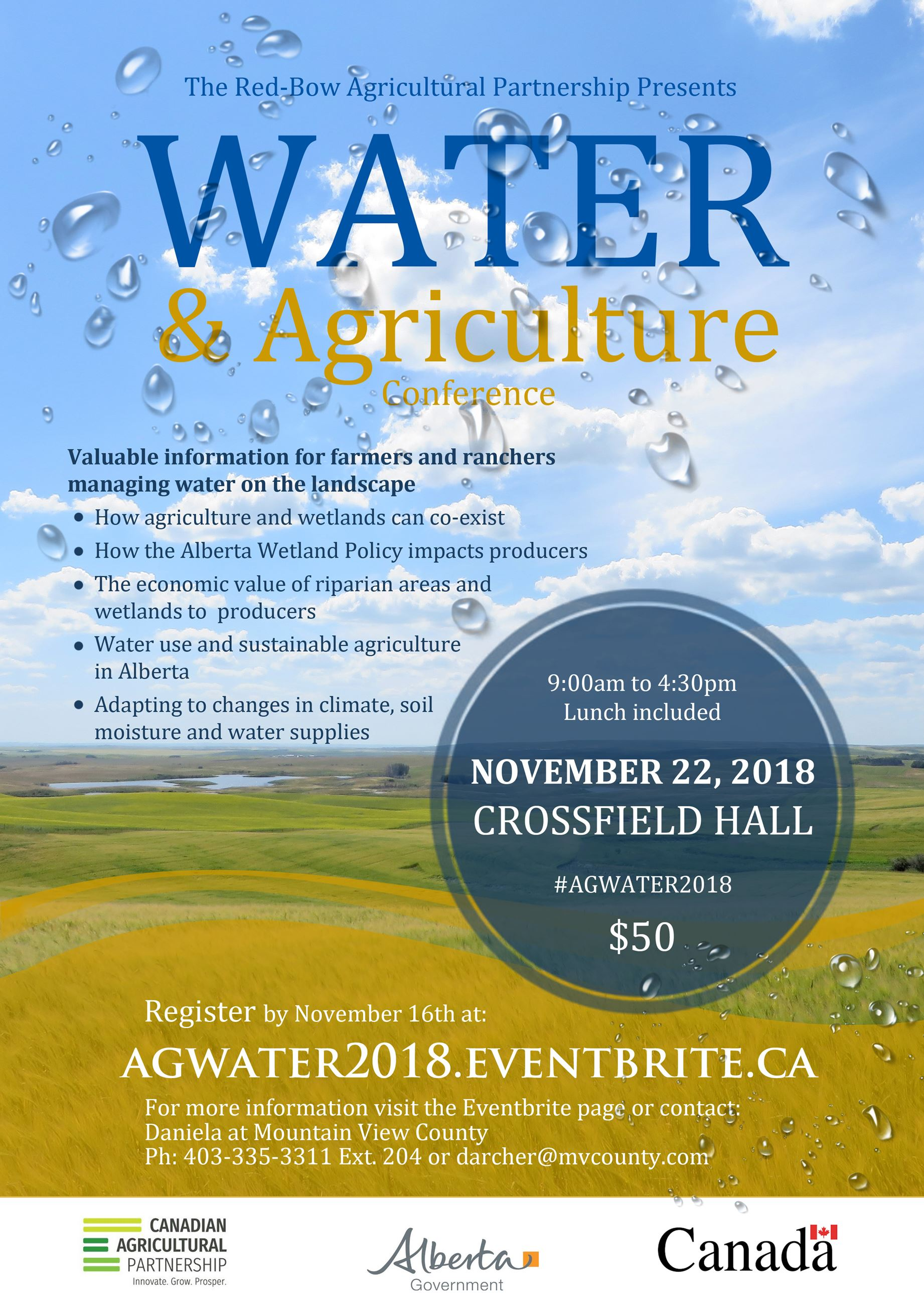 Water and Agriculture - Poster CAP