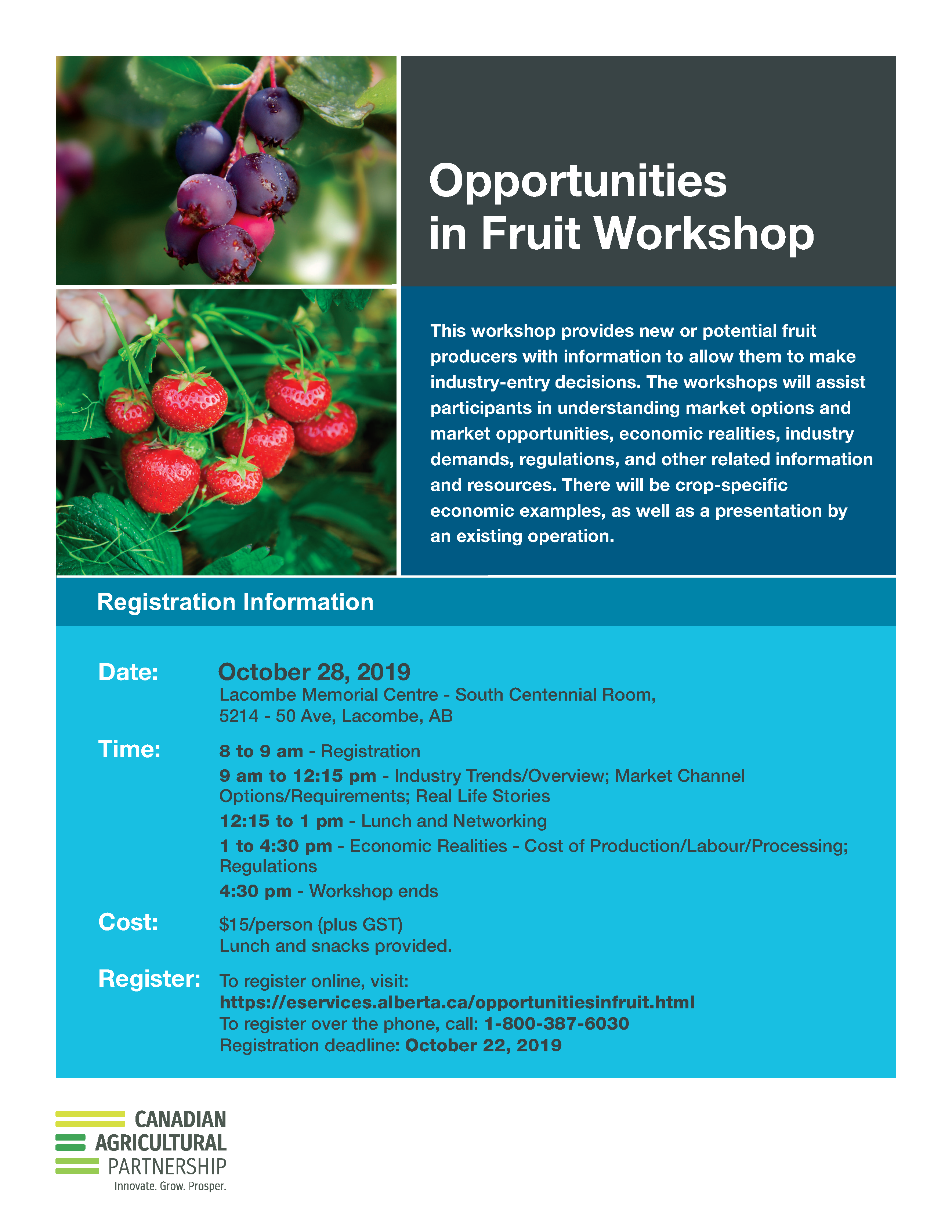 2019 CAP Opportunities Fruit Workshop B