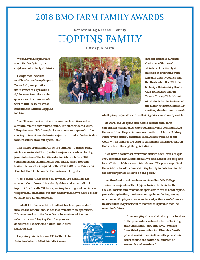 Hoppins Family Opens in new window